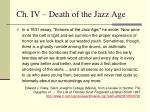 ch iv death of the jazz age4