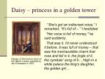 daisy princess in a golden tower