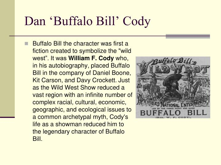 Dan 'Buffalo Bill' Cody