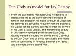 dan cody as model for jay gatsby1