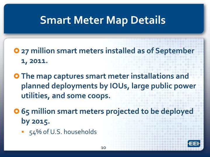 Smart Meter Map Details