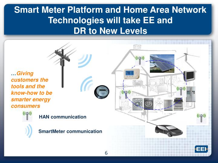 Smart Meter Platform and Home Area Network  Technologies will take EE and
