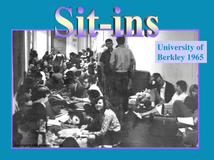 Sit-ins
