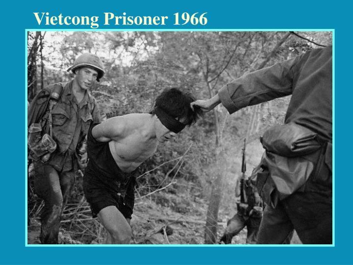 Vietcong Prisoner 1966