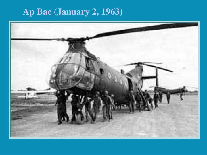 Ap Bac (January 2, 1963)