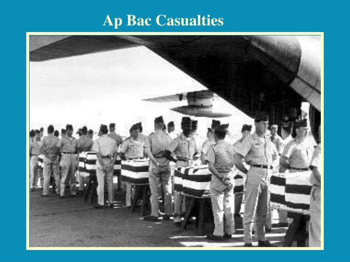 Ap Bac Casualties