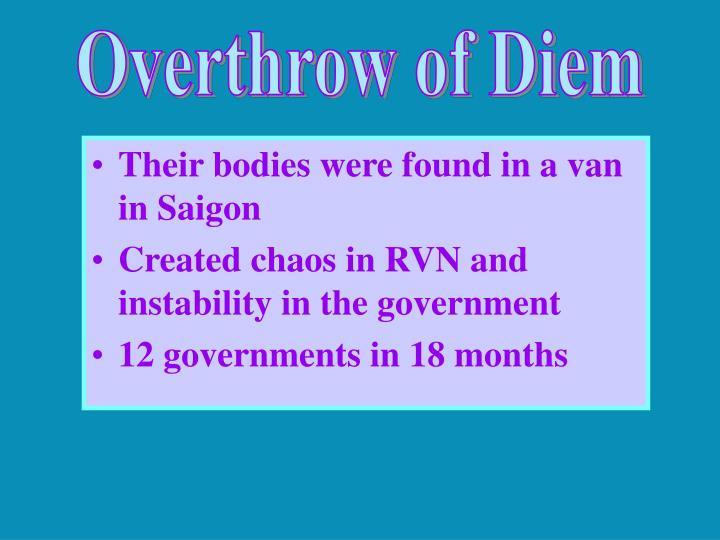 Overthrow of Diem