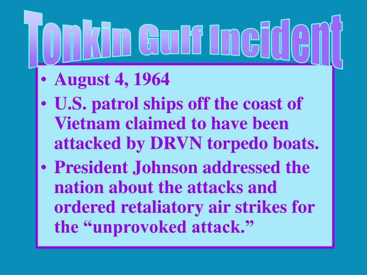 Tonkin Gulf Incident