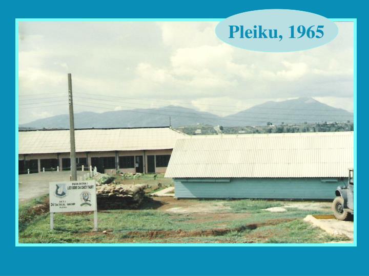 Pleiku, 1965