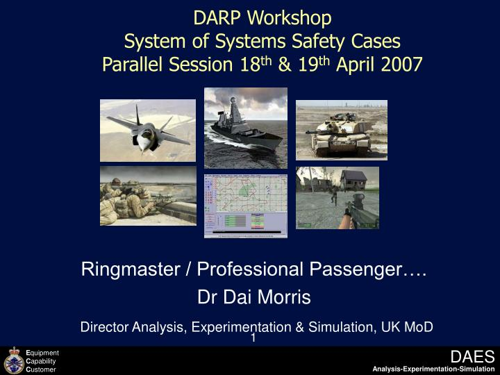 DARP Workshop