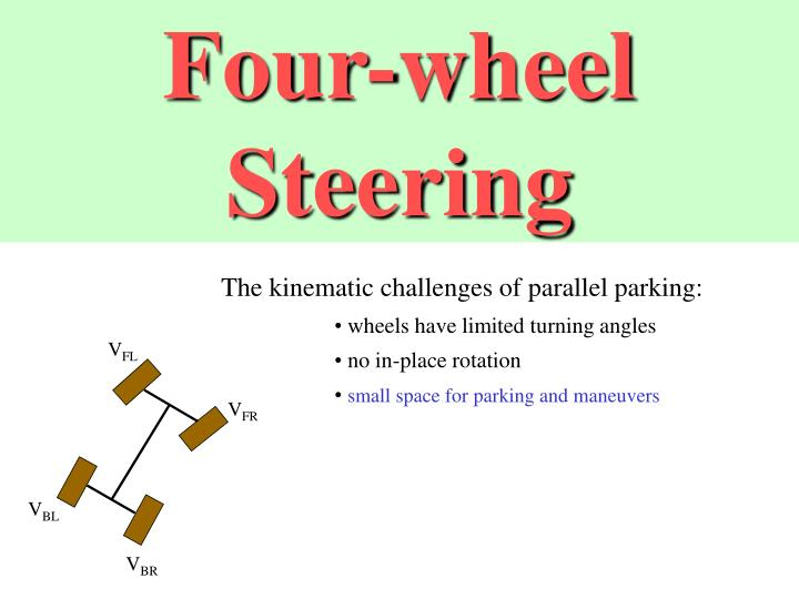 Four-wheel Steering