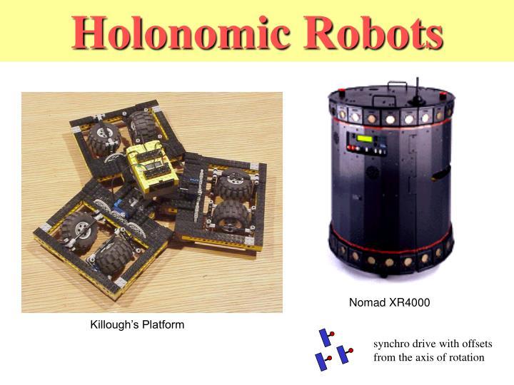 Holonomic Robots