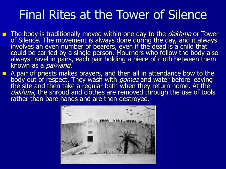 Final Rites at the Tower of Silence