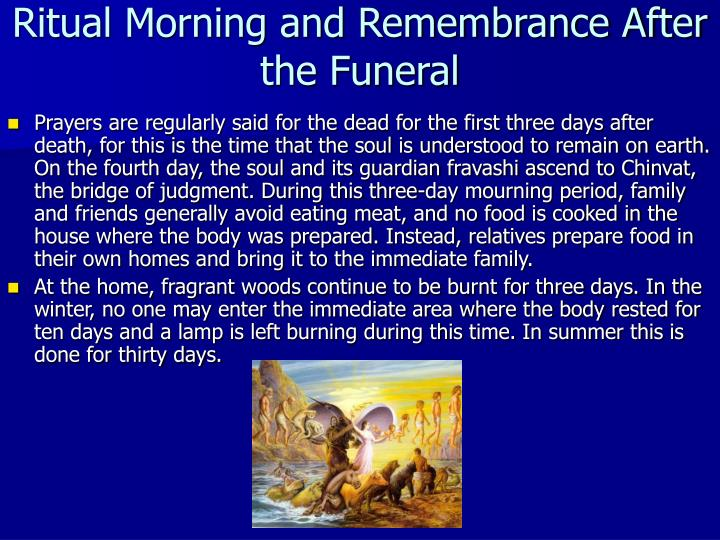 Ritual Morning and Remembrance After the Funeral