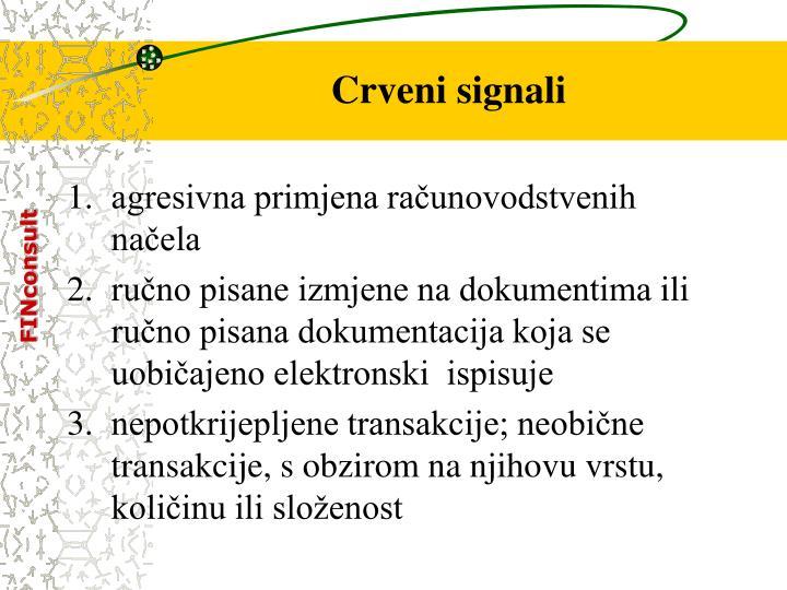 Crveni signali