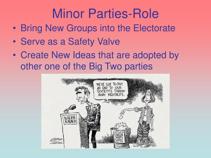 Minor Parties-Role