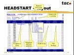headstart layout
