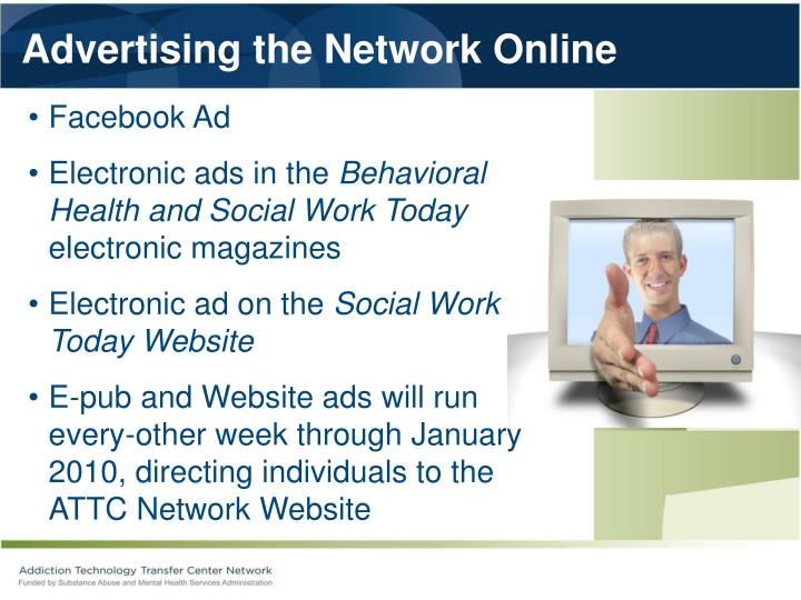 Advertising the Network Online