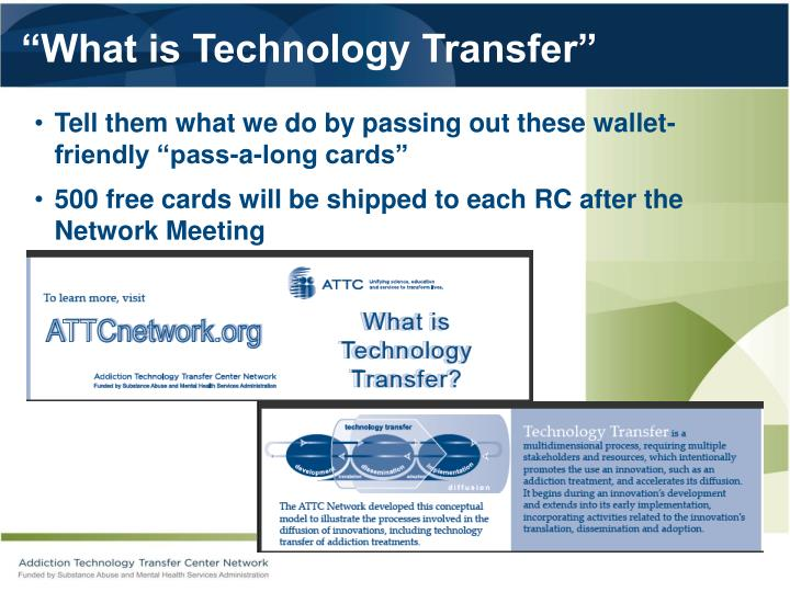 """What is Technology Transfer"""