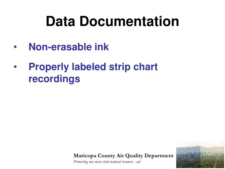 Data Documentation