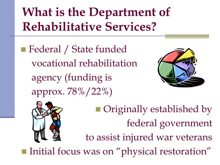 What is the Department of Rehabilitative Services?