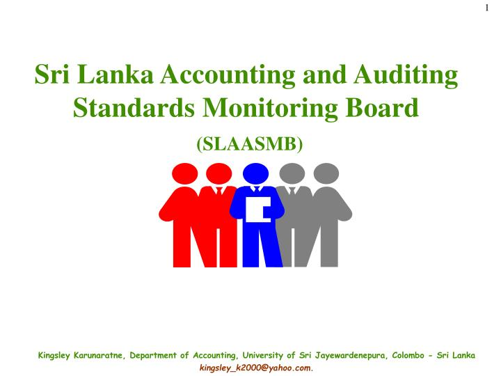 Sri lanka accounting and auditing standards monitoring board slaasmb
