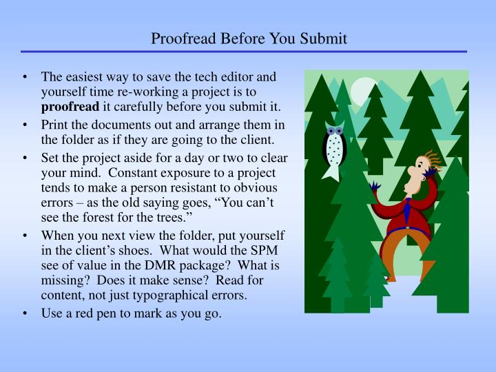 Proofread Before You Submit
