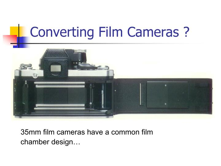 35mm film cameras have a common film