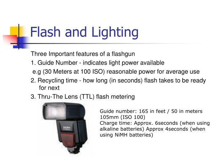 Flash and Lighting