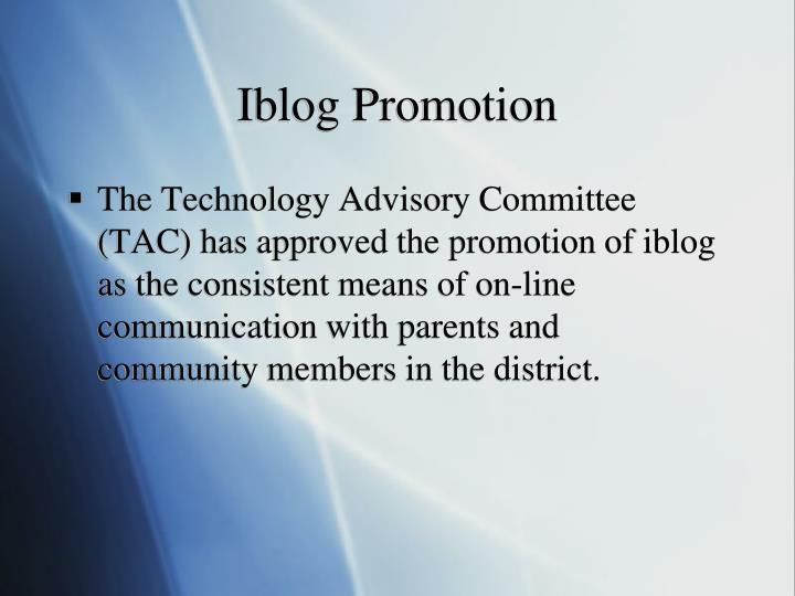 Iblog Promotion