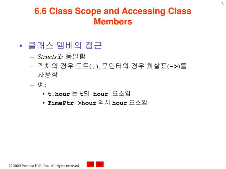 6 6 class scope and accessing class members1