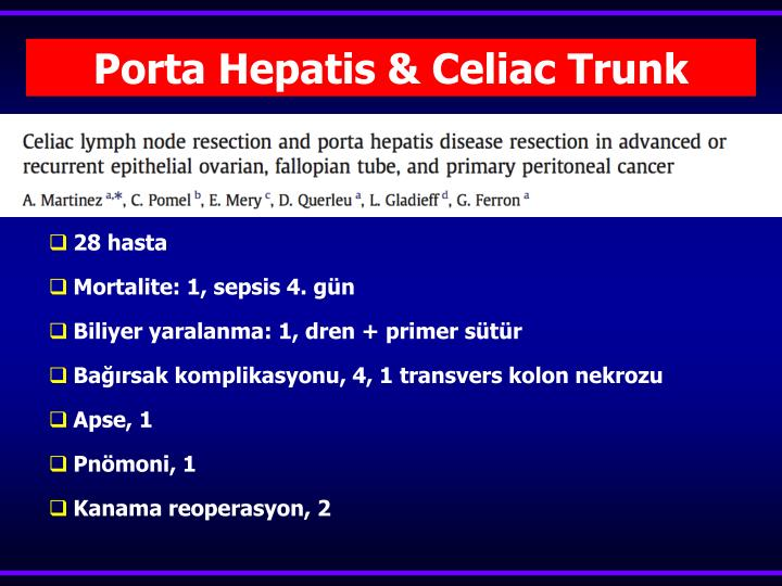 Porta Hepatis & Celiac Trunk