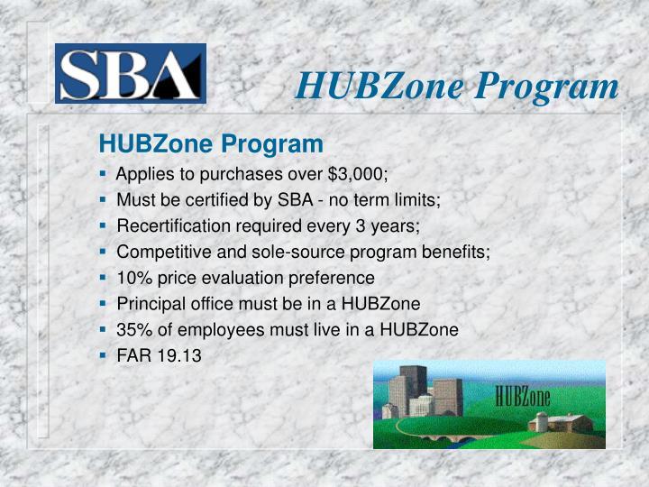 HUBZone Program
