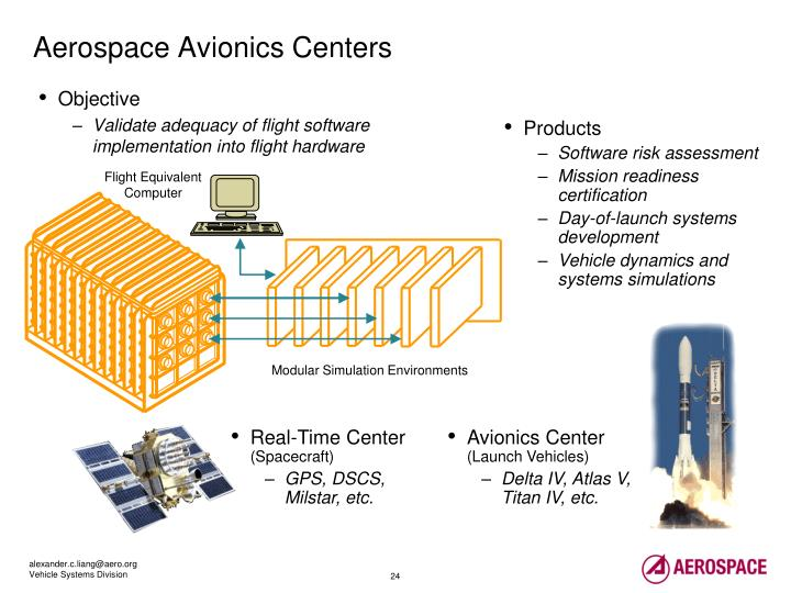 Aerospace Avionics Centers