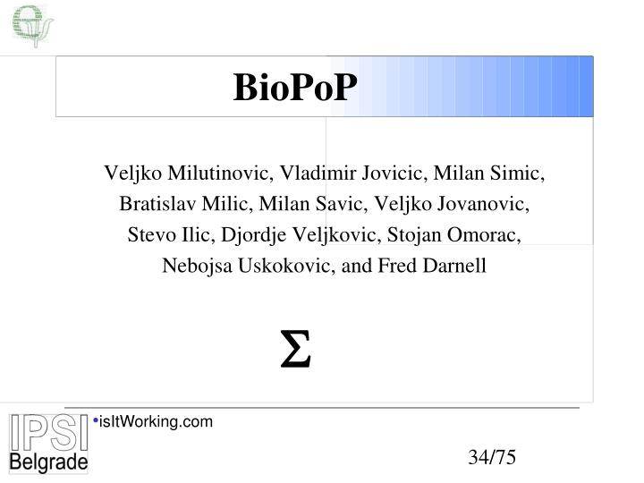 BioPoP
