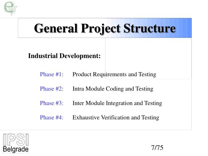 General Project Structure