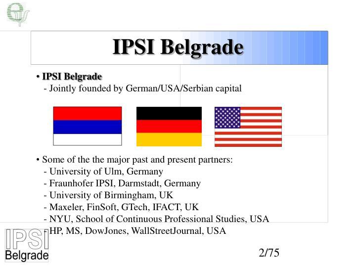 IPSI Belgrade