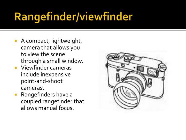 Rangefinder/viewfinder