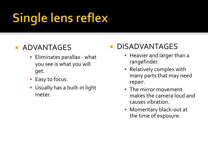 Single lens reflex