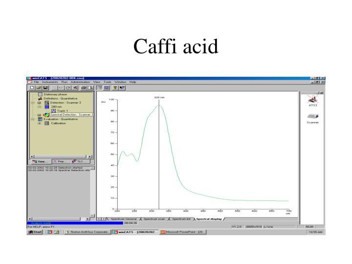 Caffi acid