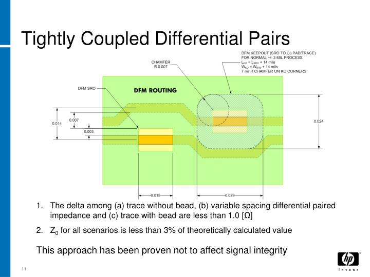 Tightly Coupled Differential Pairs