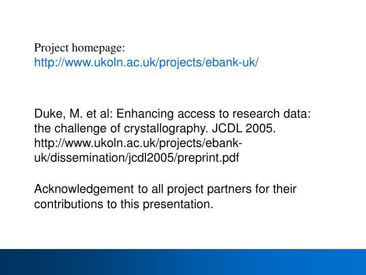 Project homepage: