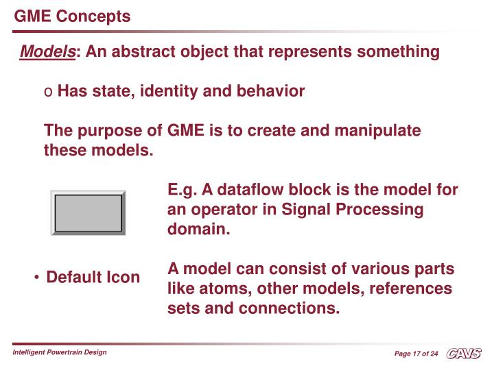 GME Concepts