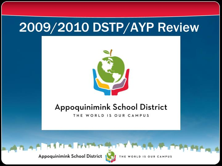 2009 2010 dstp ayp review