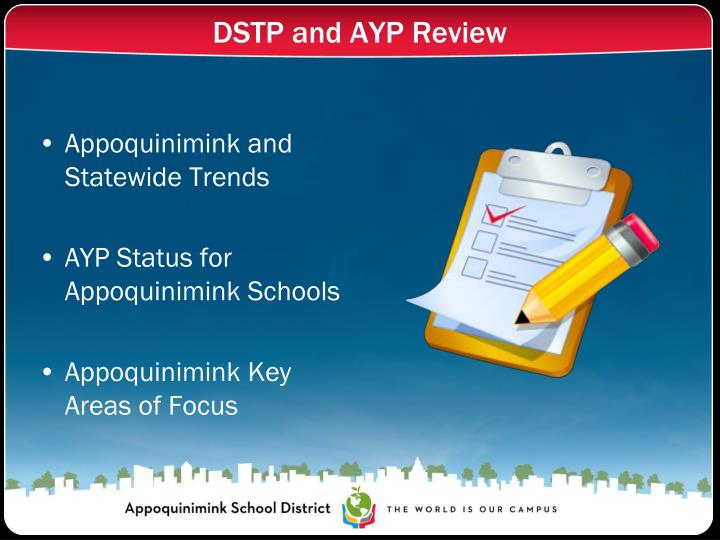 Dstp and ayp review