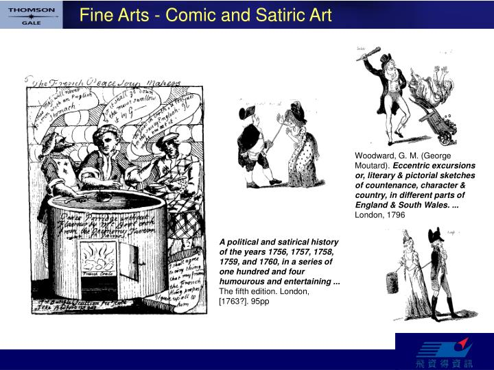 Fine Arts - Comic and Satiric Art