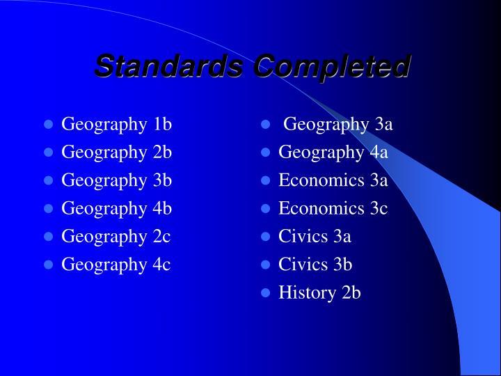 Geography 1b