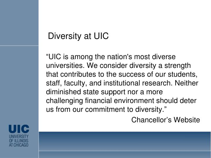 Diversity at UIC