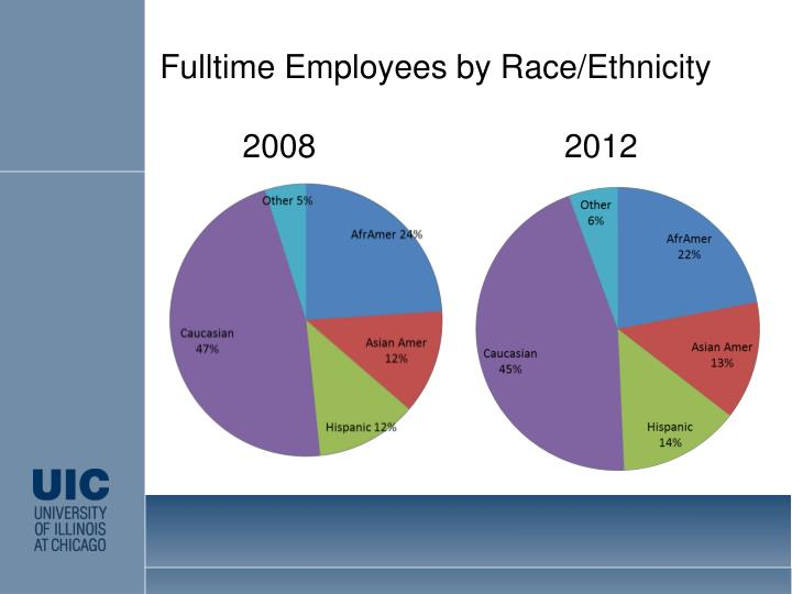 Fulltime Employees by Race/Ethnicity