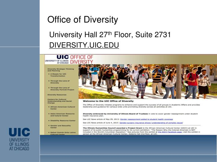 Office of Diversity